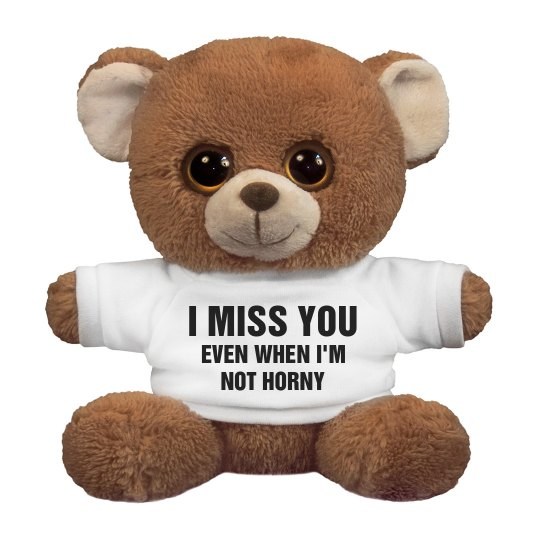 Funny I Miss You Bear 75 Inch Oogles Brown Bear Stuffed Animal