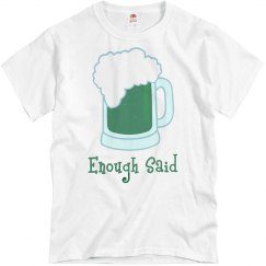Green Beer, Enough Said