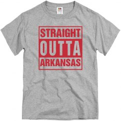 Straight Outta Arkansas T-Shirt