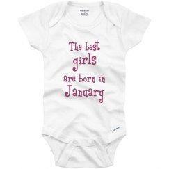 Best girls born in January