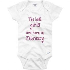 Best girls born in February