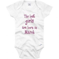Best girls born in March