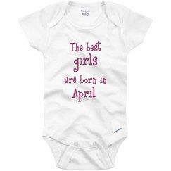 Best girls born in April