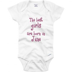 Best girls born in June