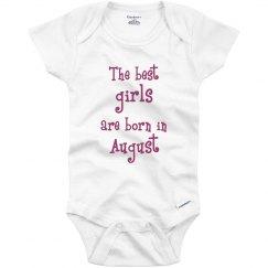Best girls born in August