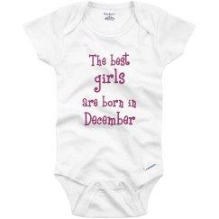 Best girls born in December