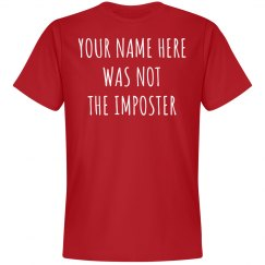 Custom Among Imposter Shirt