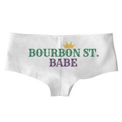 Bourbon Street Mardi Gras Panties