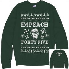 Green Impeach 45 Sweater