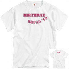 B-Day Squad Tee (Pink)