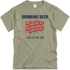 Beer Drinking Job