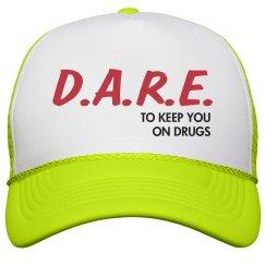 Drugs Are Fun Neon Hat