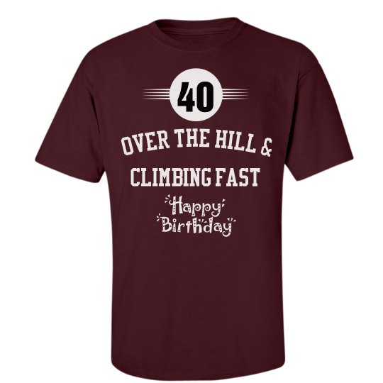 40 and climbing fast
