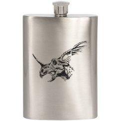 Triceritop/Dinosaur Flask