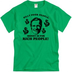 Silly Poor People Romney