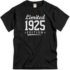 Limited 1925 edition