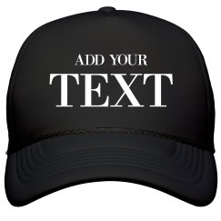 Custom FLOTUS Black Cap