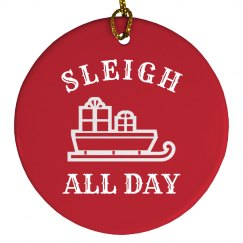 Sleigh All Day Design