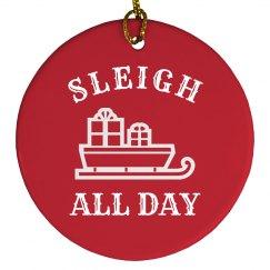 Sleigh All Day Design