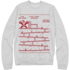 Ugly Santa Kong Sweater