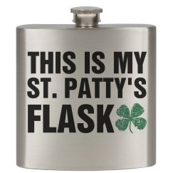My St. Patty's Flask