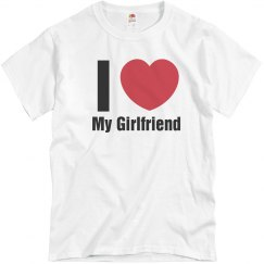 Love Girlfriend T-Shirt