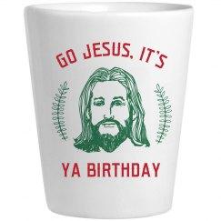 Go Jesus Festive Drinkware