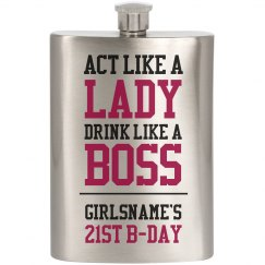 GIRLSNAME'S 21 Drink Like A Boss