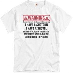 Dads Warning T-shirt