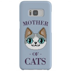 Mother Of Cats Custom Case