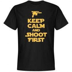 Keep Calm Solo Shot First