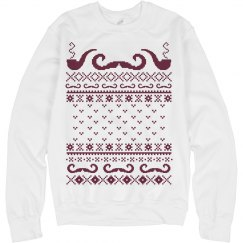 An Ugly Mustache Sweater
