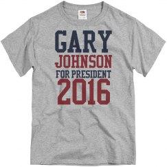 President Gary Johnson