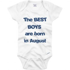 Best boys born in August