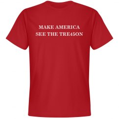 Make America See Trump's TRE45ON