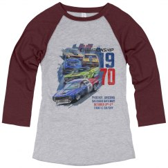 Phoenix Vintage Style Racing Poster
