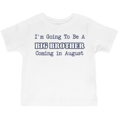 Soon To Be Big Bro