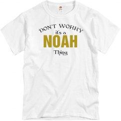 It's a Noah thing