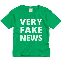 Kids For Very Fake News Politics