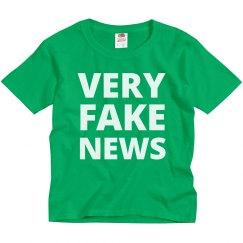 Kids For Very Fake News Politics