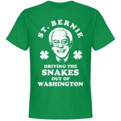 St Patricks Day Bernie Sanders