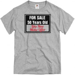 50 year old for sale