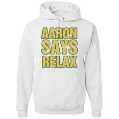 Aaron Says Relax White