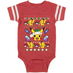 Gotta Catch Christmas Baby Onesie