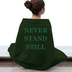 Never Stand Still Blanket