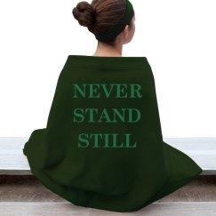 Never Stand Still Blanket