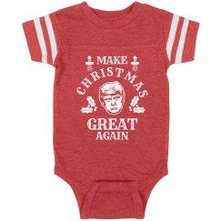 Make Christmas Great Again Baby