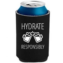 Hydrate Responsibly Koozie