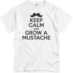 Keep Calm/Grow A Mustache