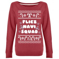 Feliz Navi-Squad Ugly Sweater